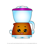 How to Draw Coffee Drip from Shopkins