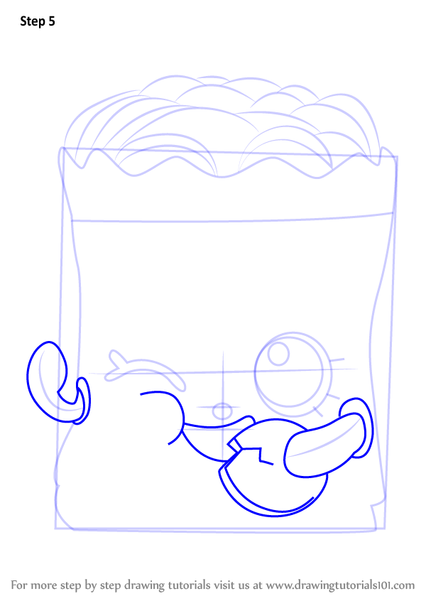 how to draw shopkins step by step