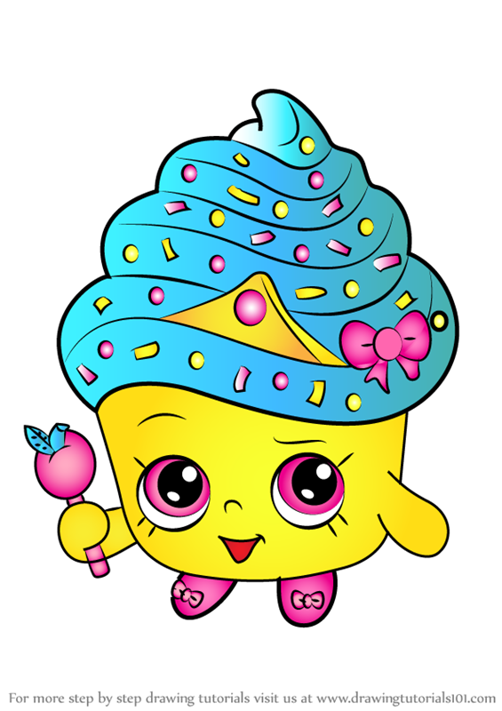 Learn How to Draw Cupcake Queen