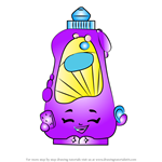 How to Draw Dishy Liquid from Shopkins
