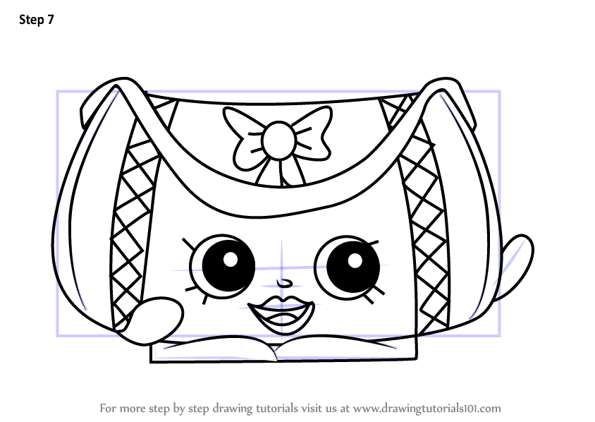 Learn How to Draw Duffa from Shopkins
