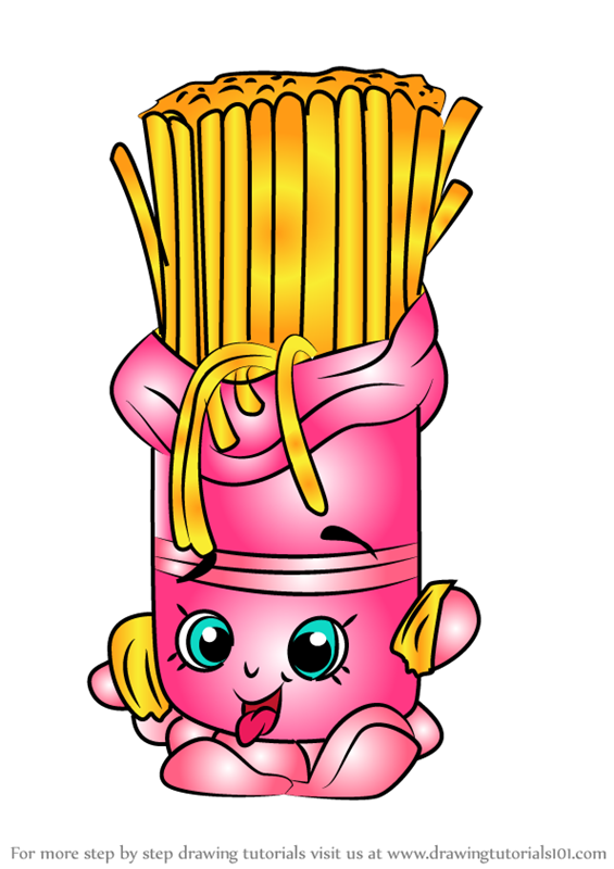 Dragon coloring pages free printable - Learn How To Draw Fasta Pasta From Shopkins Shopkins