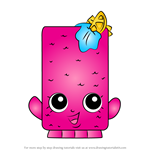 How to Draw Fishtix from Shopkins
