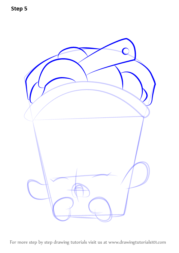 how to draw whipped cream