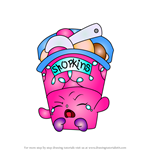 How to Draw Ice Cream Dream from Shopkins
