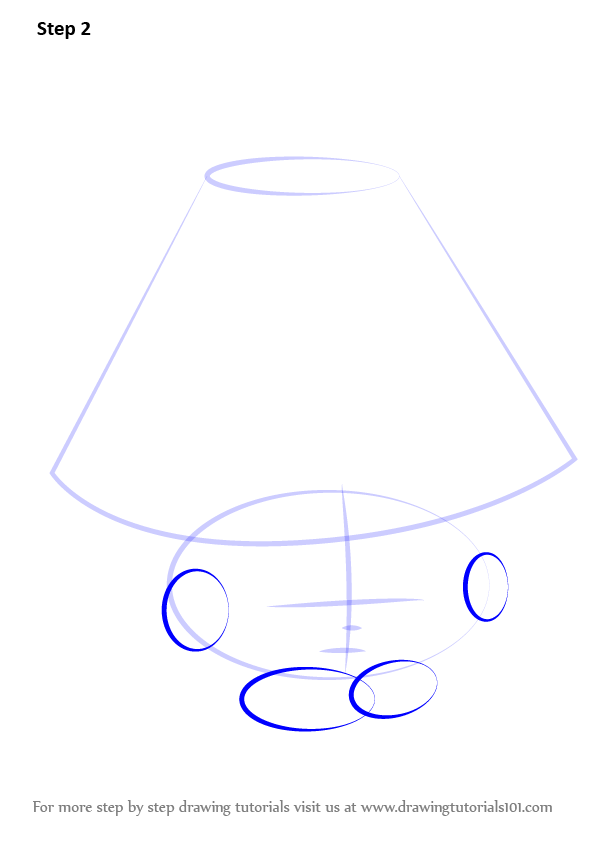 Learn How To Draw Lana Lamp From Shopkins Shopkins Step