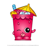 How to Draw Little Sipper from Shopkins
