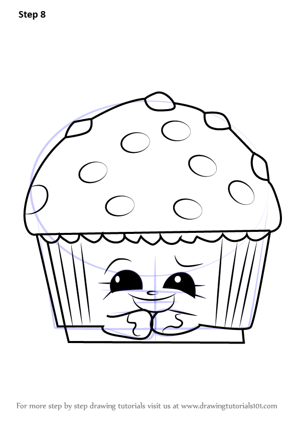 Learn How to Draw Mary Muffin from