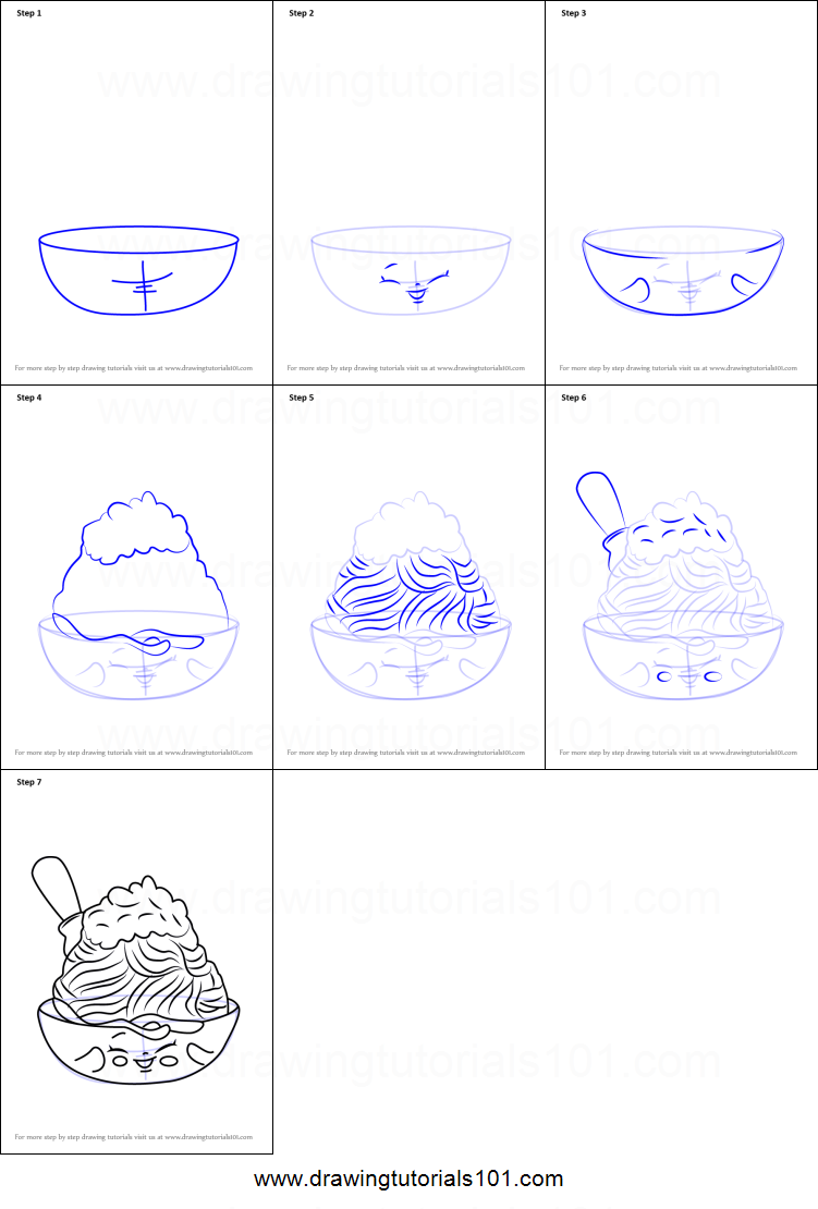 How To Draw Netti Spaghetti From Shopkins Printable Step By Step Drawing Sheet Drawingtutorials101 Com