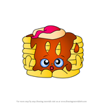 How to Draw Pamela Pancake from Shopkins