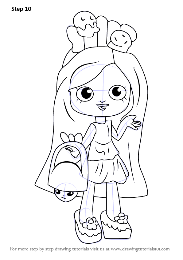 shopkins shoppies coloring pages - photo#33
