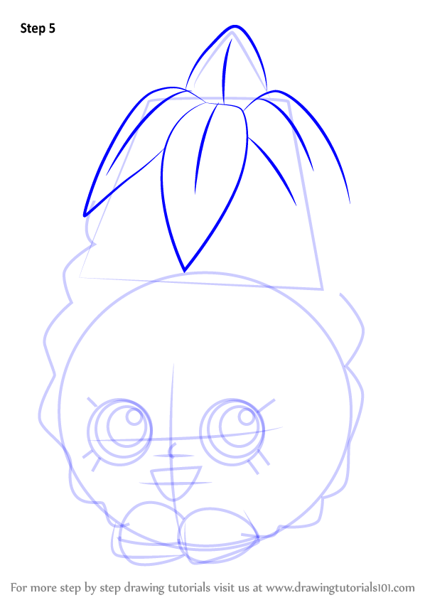 shopkins coloring pages pineapple crush - photo #7