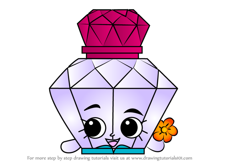 Great How To Draw Polly Perfume From Shopkins