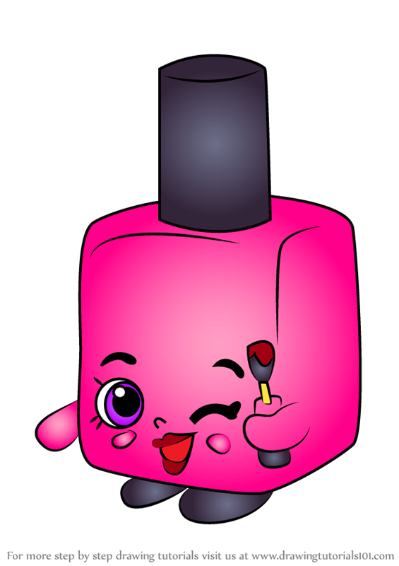 nail polish coloring pages for kids - photo #34