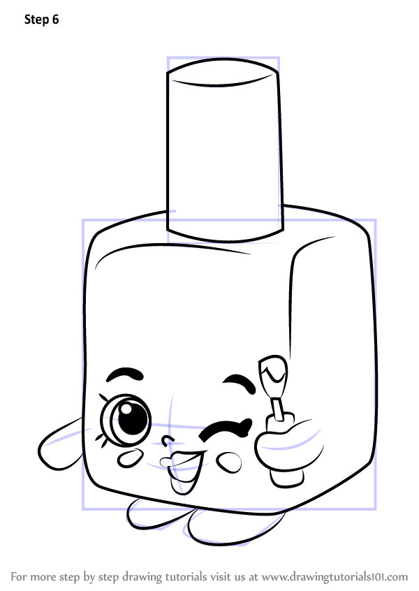 how to draw shopkins season 1 step by step