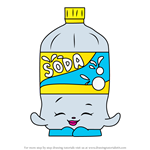 How to Draw Soda from Shopkins