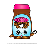 How to Draw Toffy Coffee from Shopkins