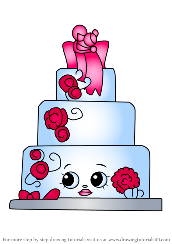How To Draw Wendy Wedding Cake From Kins