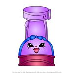 How to Draw Wilma Wedge from Shopkins