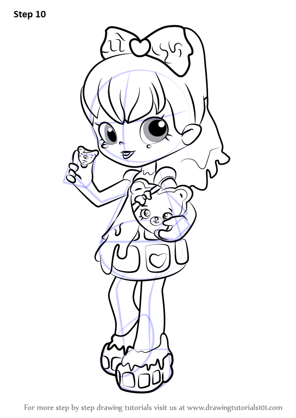 shopkin doll coloring pages - photo#14