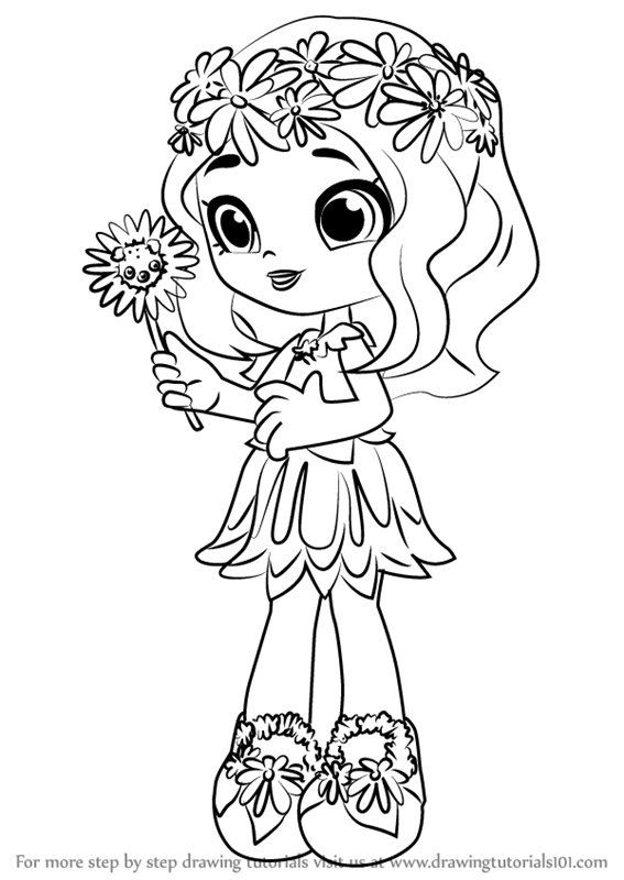 Learn How to Draw Daisy Petals