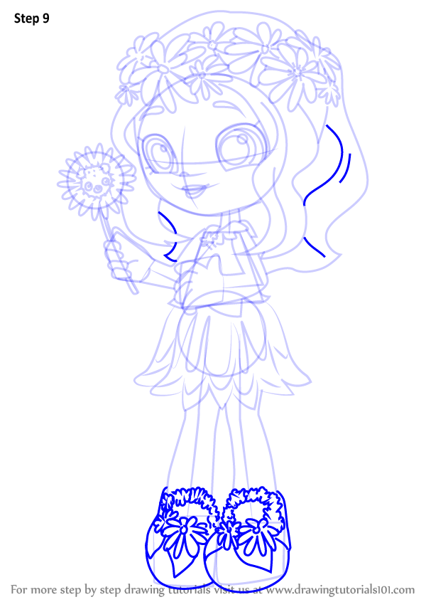 Learn How To Draw Daisy Petals From Shoppies Shoppies