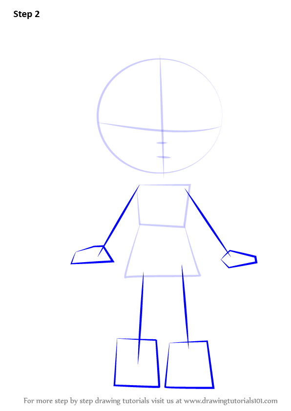 how to draw shoppies easy