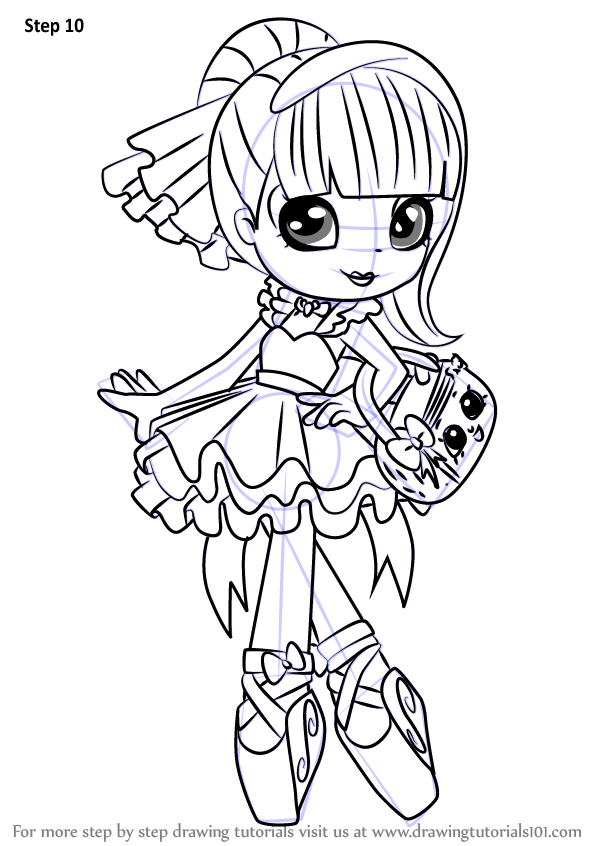 shopkin doll coloring pages - photo#25
