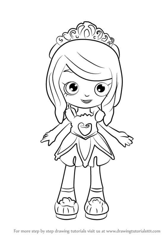 shopkin doll coloring pages - photo#16
