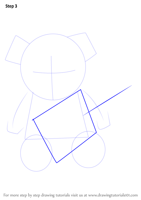 Learn How to Draw Teddy bear with
