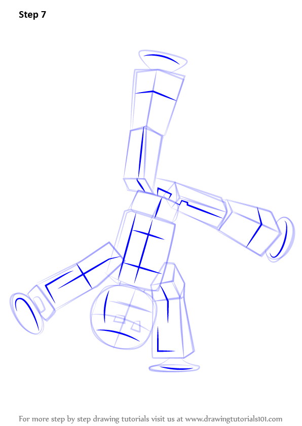 Learn How To Draw Stikbot Stikbots Step By Step