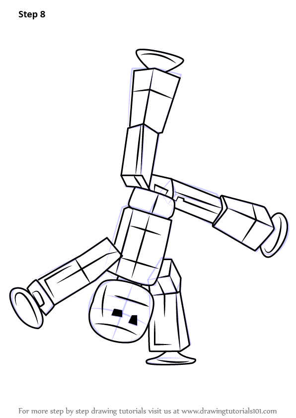 Learn How to Draw Stikbot Stikbots