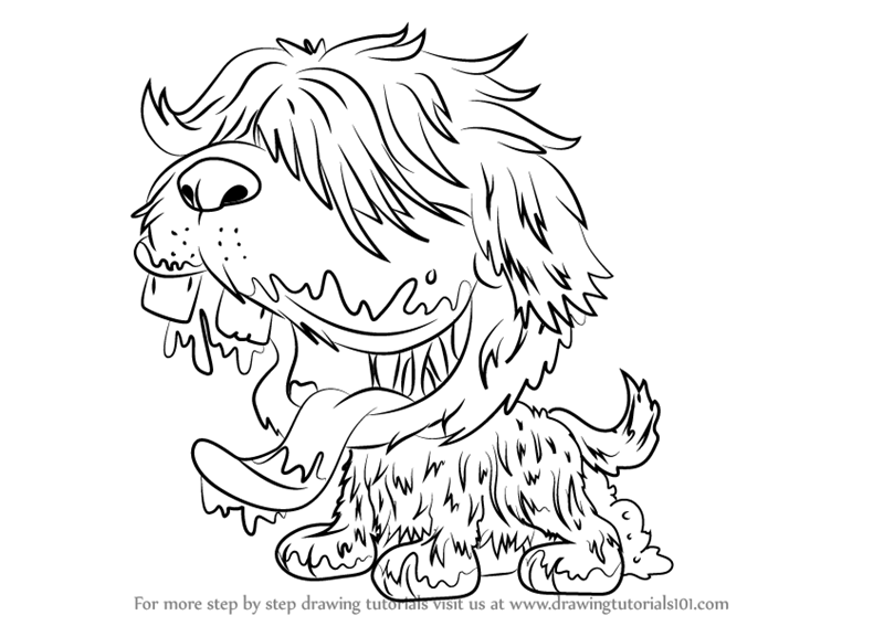 Ugglys Pet Shop Coloring Pages