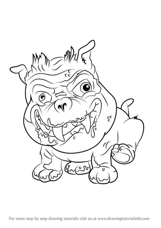 The Ugglys Pet Shop Coloring Pages