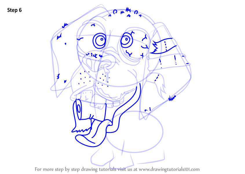 Learn how to draw slobrador from the ugglys pet shop the for Ugglys pet shop coloring pages