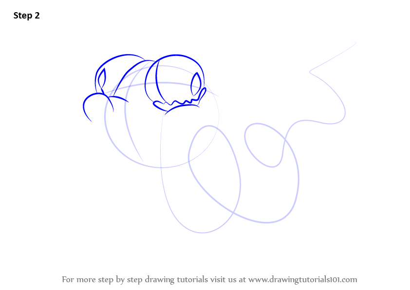 Learn How to Draw Twisted Python from The Ugglys Pet Shop
