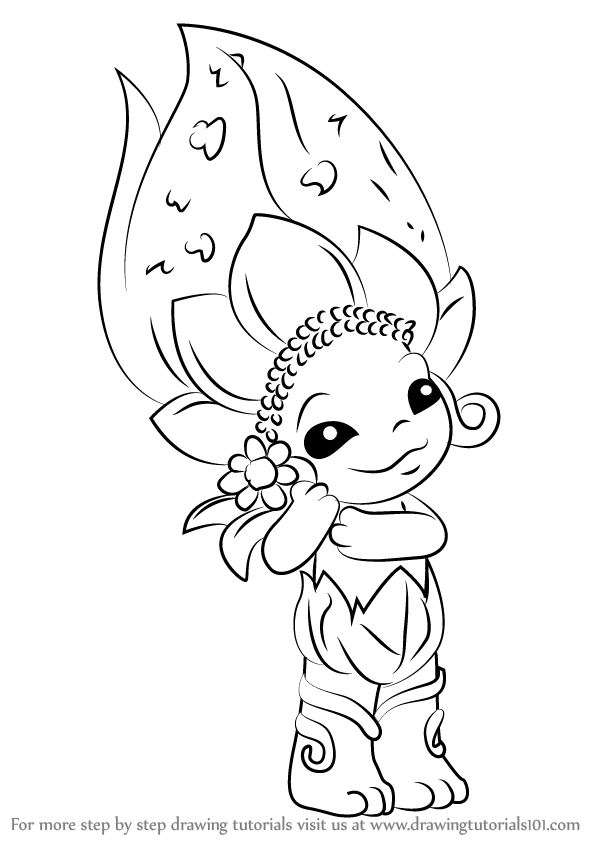 zelfs coloring pages | Learn How to Draw Daisy-May from The Zelfs (The Zelfs ...