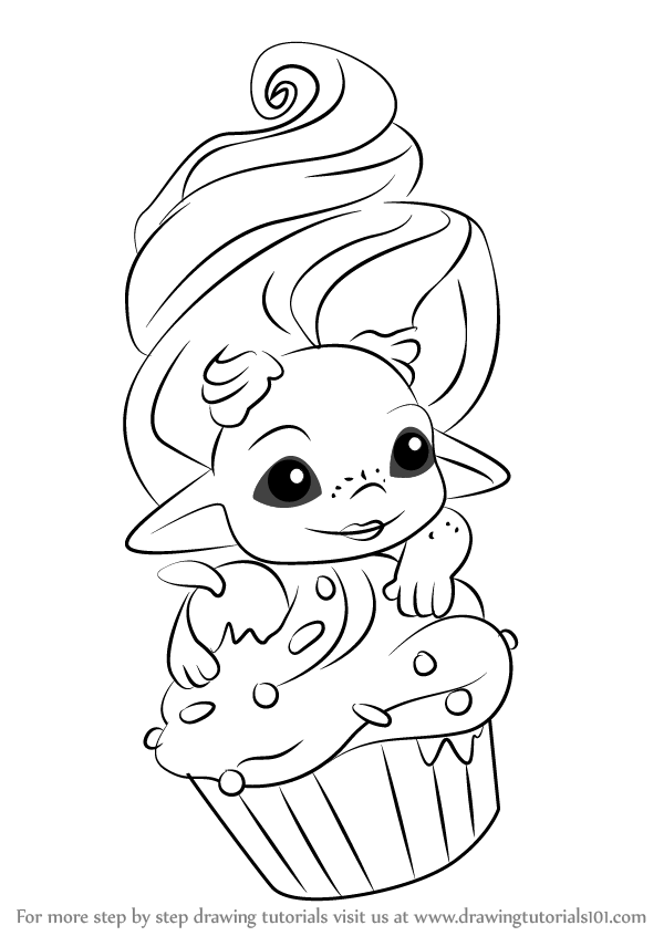 Coloring Pages Zelfs : Learn how to draw frostette from the zelfs