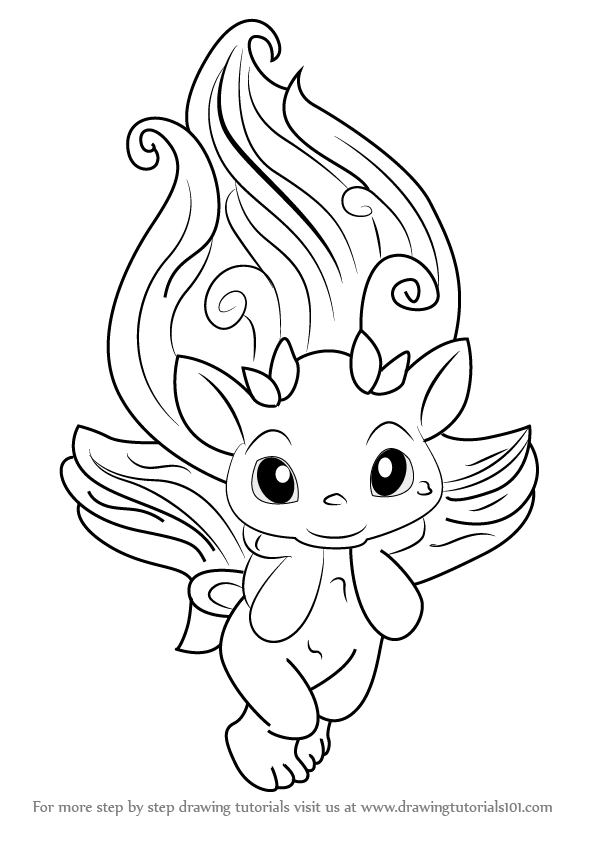 Coloring Pages Zelfs : Learn how to draw snap jack from the zelfs
