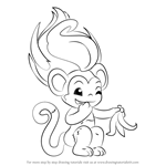zelfs coloring pages | Learn How to Draw Smoothie from The Zelfs (The Zelfs) Step ...