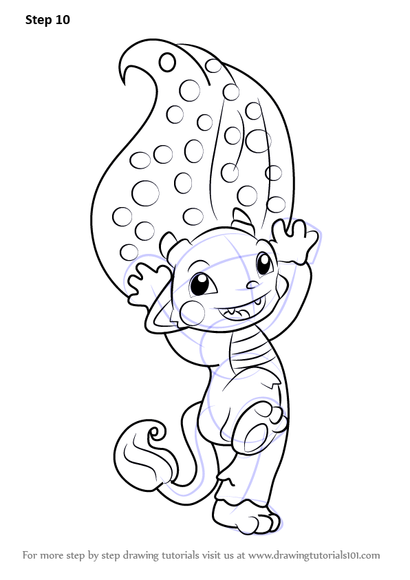 Coloring Pages Zelfs : Learn how to draw sneak a boo from the zelfs