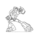 How to Draw Bumblebee from Transformers