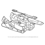 How to Draw Megatronus Disguised from Transformers