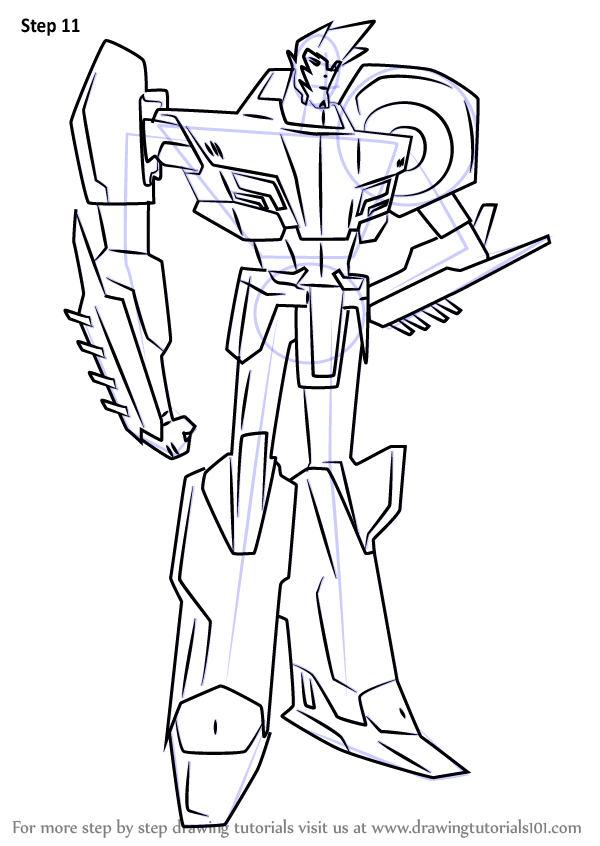 Learn How to Draw Sideswipe from