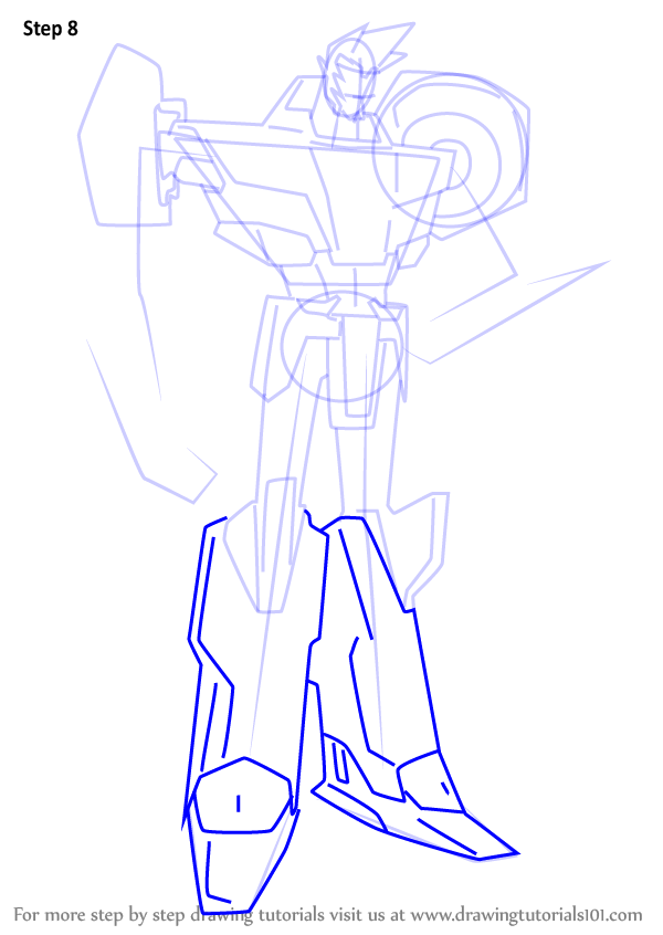 Learn How to Draw Sideswipe from Transformers ...