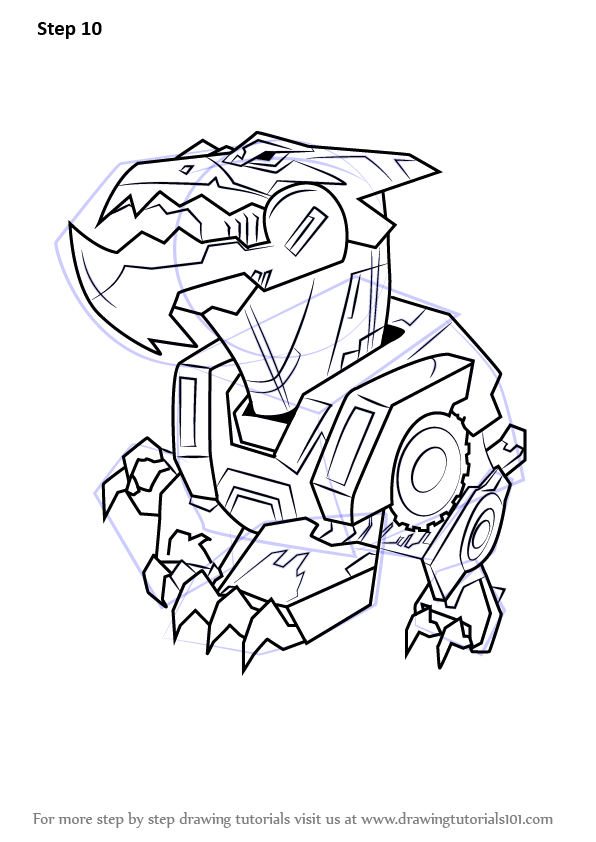 Learn How To Draw Underbite From Transformers