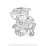 How to Draw Underbite from Transformers