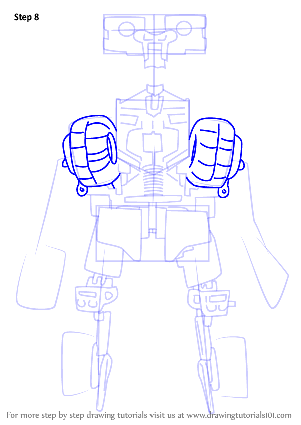 how to draw a transformer easy