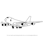 How to Draw a Boeing 747