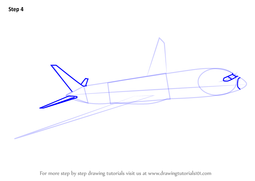 Learn How to Draw a Boeing 787